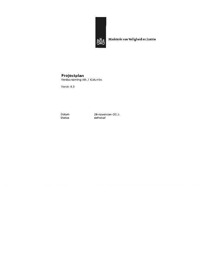 Projectplan verduurzaming-irn-icolumbo tcm126-444148