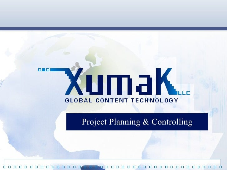 Project Planning And Controlling