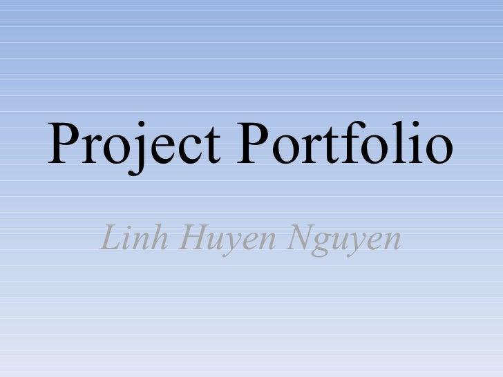 Project Portfolio Linh Huyen Nguyen