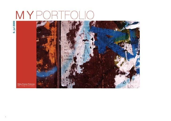 Project Portfolio 09