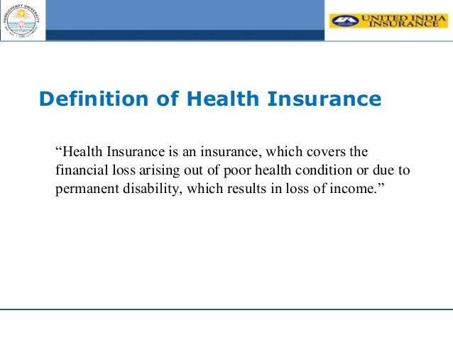 A STUDY ON AWARENESS OF HEALTH INSURANCE PRODUCTS AND ...
