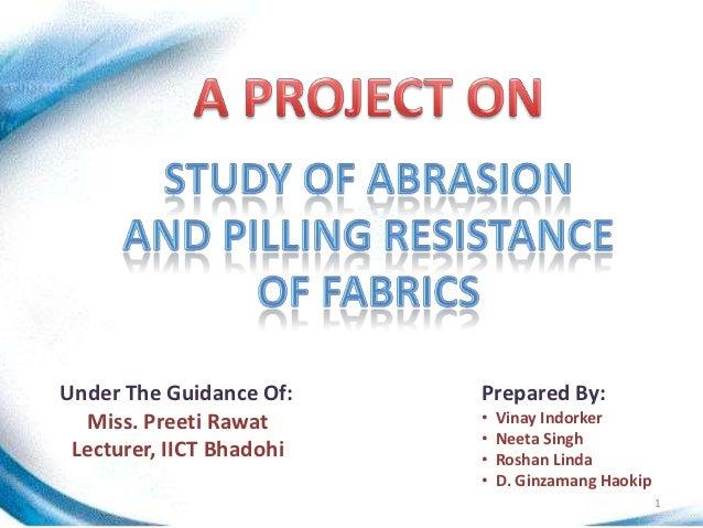 Under The Guidance Of:    Prepared By:   Miss. Preeti Rawat     •   Vinay Indorker                          •   Neeta Sing...