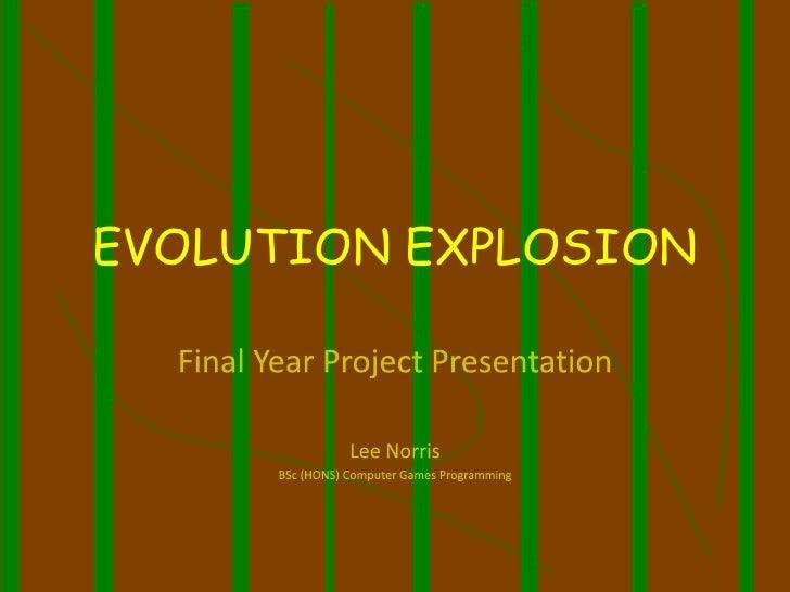 EVOLUTION EXPLOSION