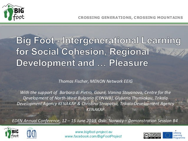 Big Foot: Crossing Generations, Crossing Mountains