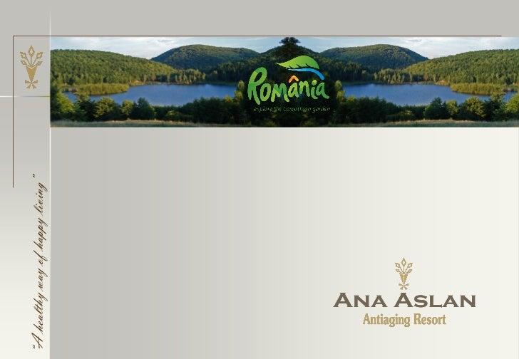 Ana Aslan Antiaging Resort