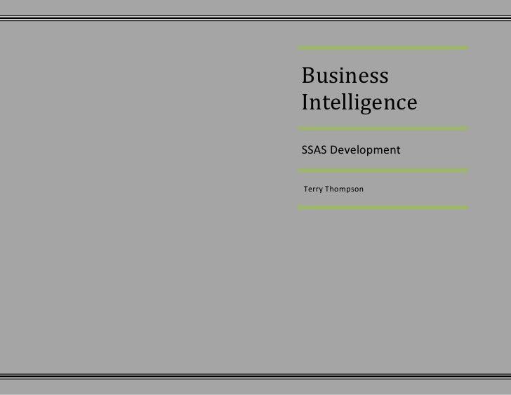SSAS Project Profile