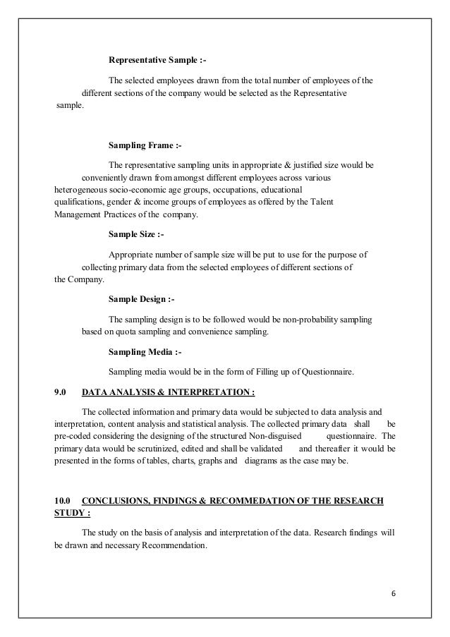 Research proposal phd management
