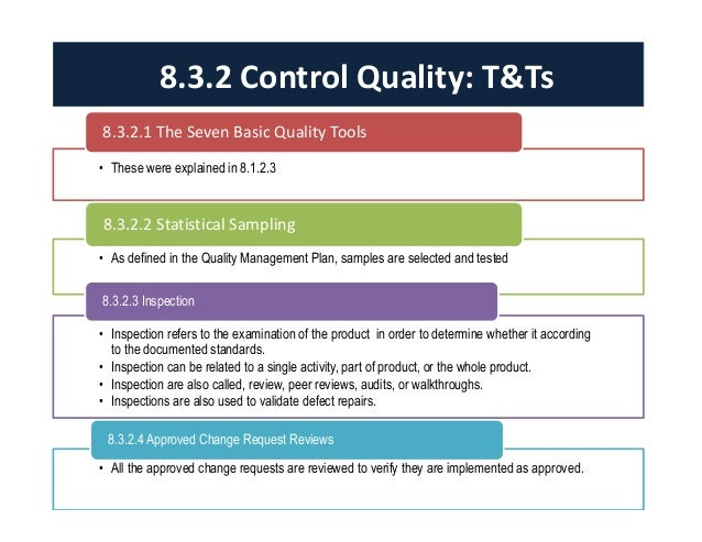 Quality Management Plan  Quality Management Plan Template
