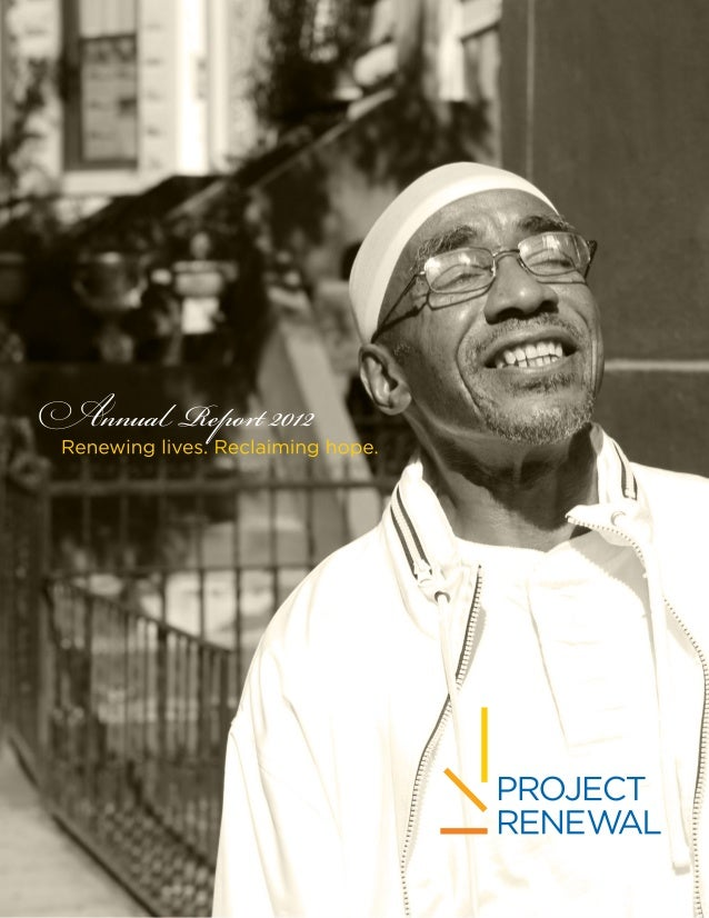 Project Renewal Annual Report 2012