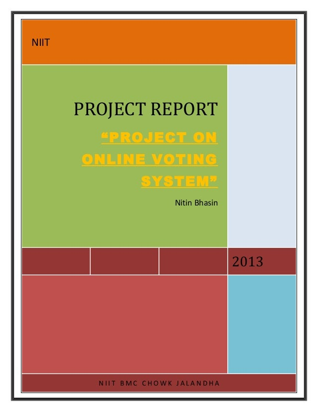 Online Voting System Project File