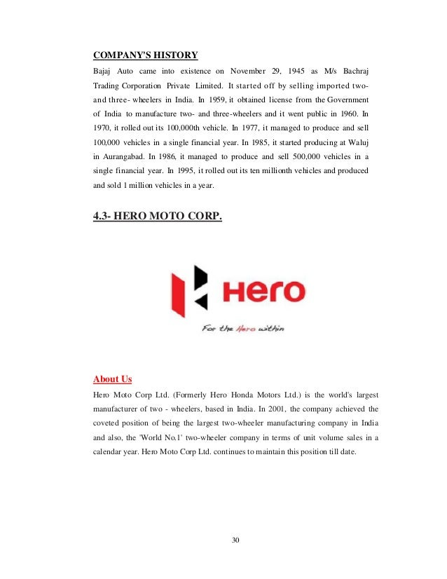 hero honda industrial profile Corporate profile and such as honda siel cars and hero honda started sales throughout japan of thin-film solar cells for public and industrial use on.