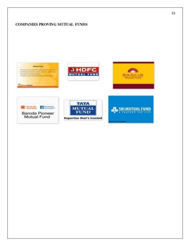 Mutual fund business plan