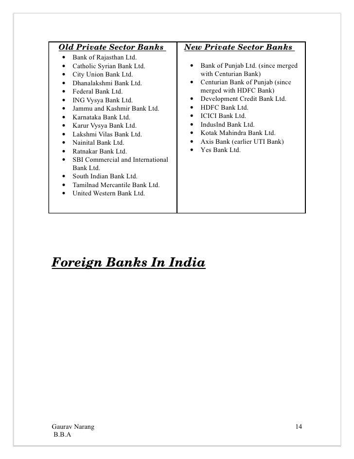 a summer project report on karur vysya bank Karur vysya bank inaugurates aadhaar enrolment centre - private sector karur vysya bank today unveiled the aadhaar enrolment centre here following uidai's directive.