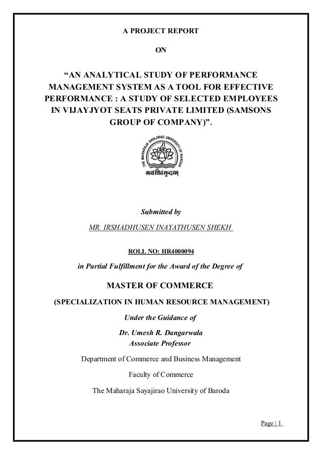 Review of literature on performance appraisal system