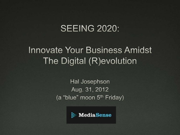INNOVATE YOUR BUSINESS AMIDST THE DIGITAL [R]EVOLUTION