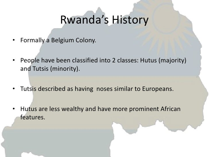 the genocide in rwanda history essay This article is an overview of the history and the concept of genocide  genocide research paper starter  events in bosnia and rwanda qualify as genocide,.
