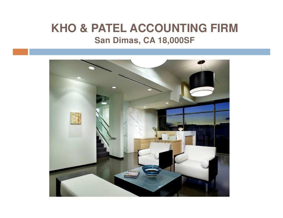 KHO & PATEL ACCOUNTING FIRM       San Dimas, CA 18,000SF