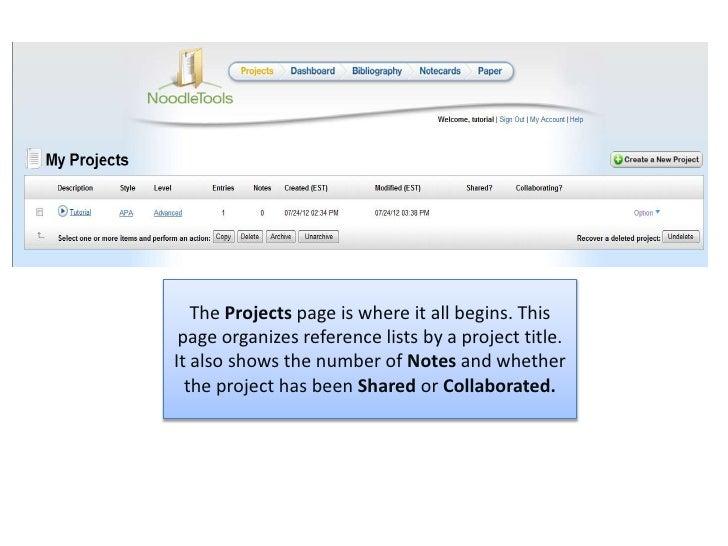 Projects dashboardpp