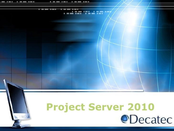 Project Server 2010