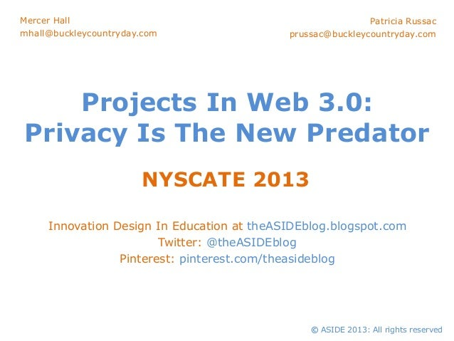 Projects In Web 3.0: Privacy Is The New Predator