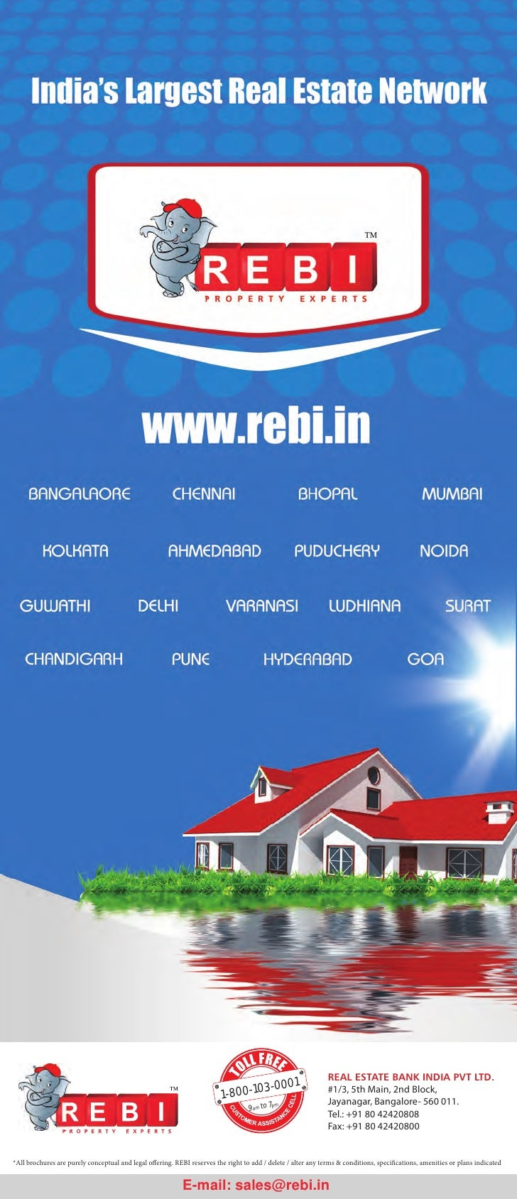 Projects Marketed by REBI