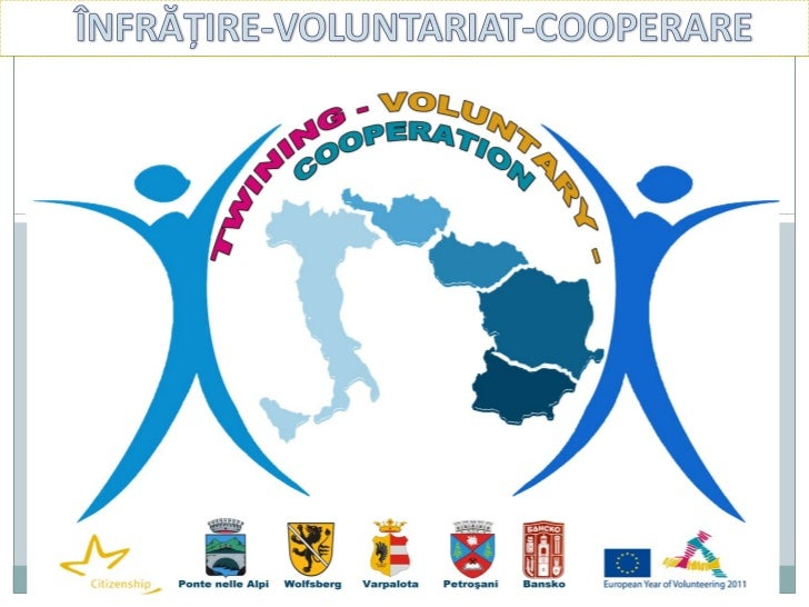 """Why """"Twinning-Voluntary-Cooperation""""   The three ideas included in the project's title :    The European Commission declar..."""
