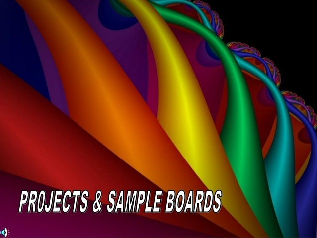 Numerous times throughout the semester, you will be asked to prepare a small poster-type project. Each project will have s...