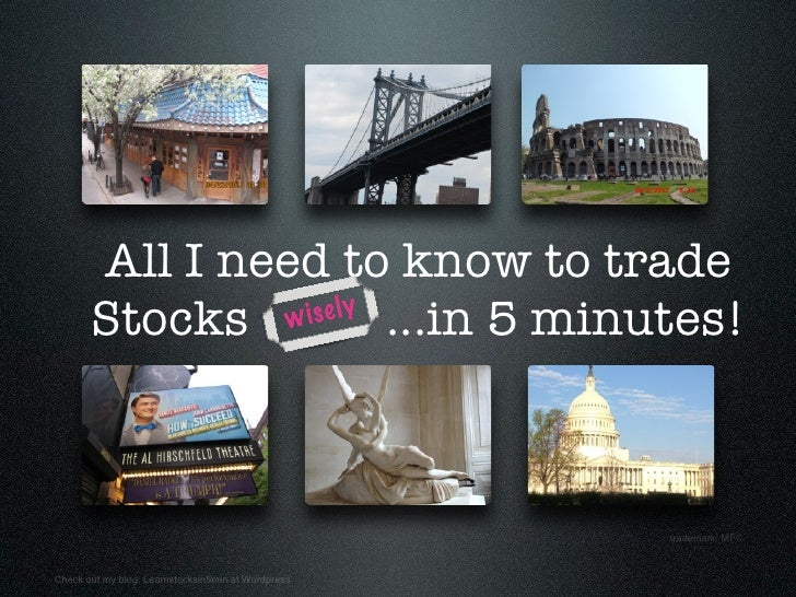 Learn Stock Investing in 5 minutes