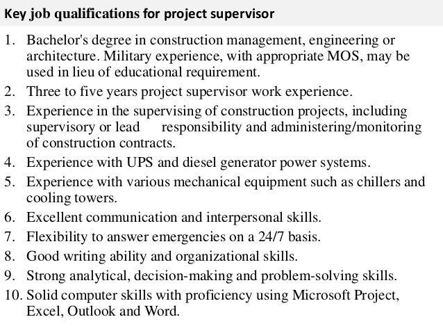 sample job description project manager project manager job – Construction Job Description