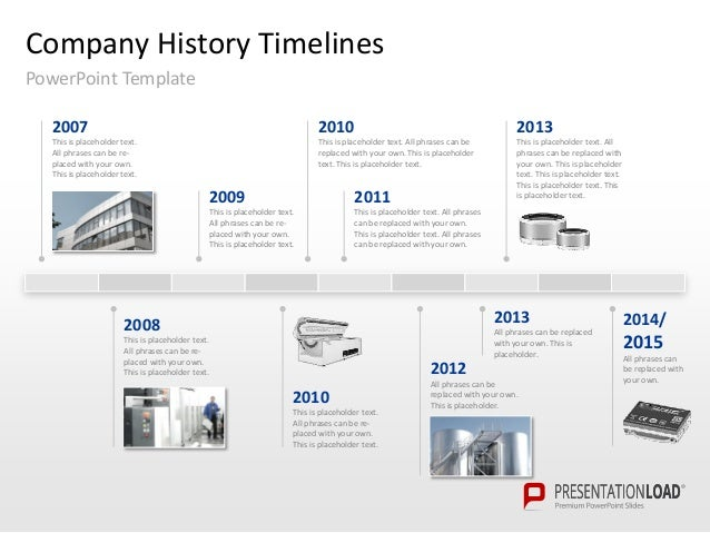 Template Powerpoint Timeline Romeondinez