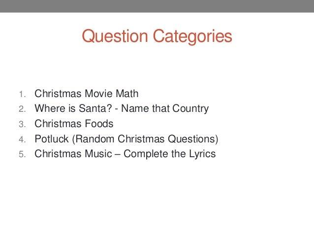 Fun essay questions