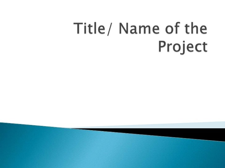 Project wall template
