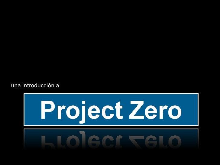 ProjectZero