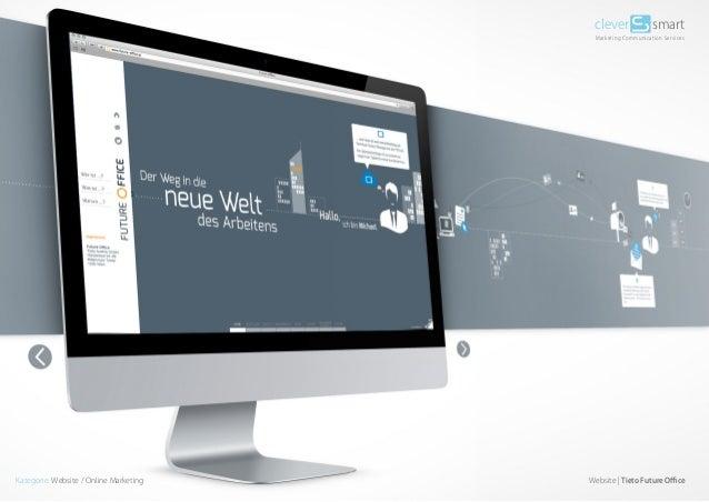 clever  smart  Marketing Communication Services  Kategorie: Website / Online Marketing  Website | Tieto Future Office
