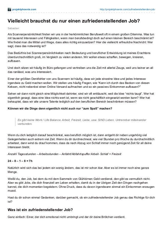 projektphoenix.com http://projektphoenix.com/zufriedenstellenden-job/ Sebastian Vielleicht brauchst du nur einen zufrieden...