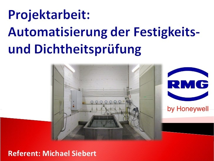 Referent: Michael Siebert