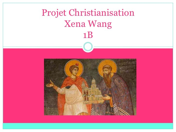 Projet christianisation