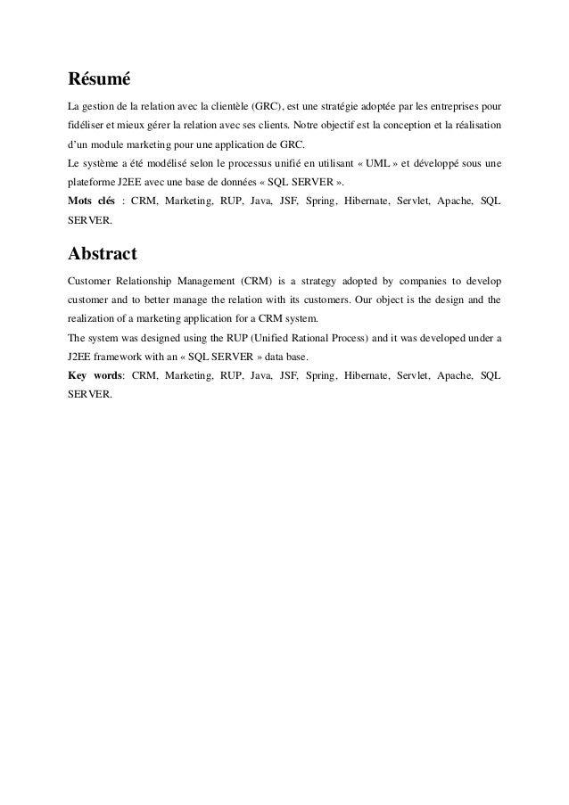 projet de fin d u0026 39 etude gestion informatique