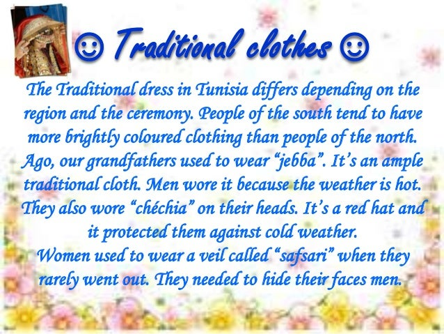 Modern dress wear for men - Clothes In Tunisia Traditional Vs Modern