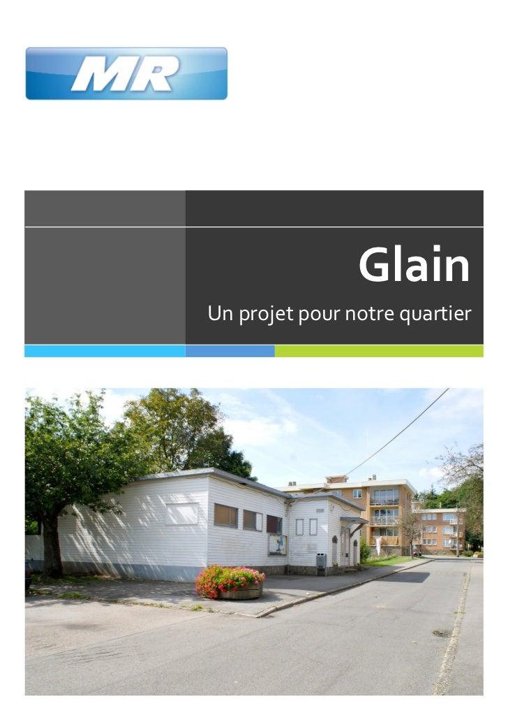Glain Un projet pour notre quartier