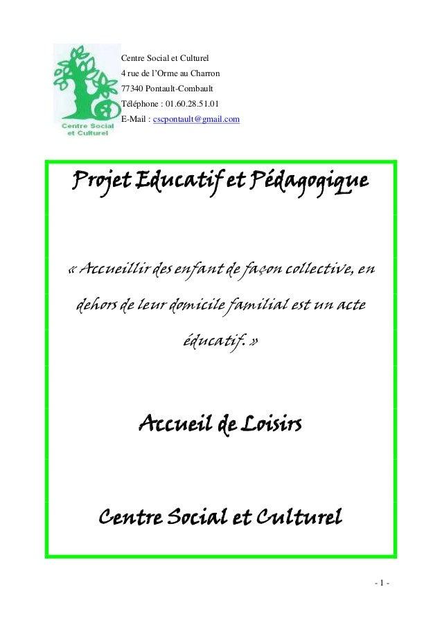 Projet éduc et péda alsh noel 2011