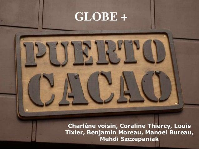 GLOBE + Charlène voisin, Coraline Thiercy, LouisTixier, Benjamin Moreau, Manoel Bureau,            Mehdi Szczepaniak