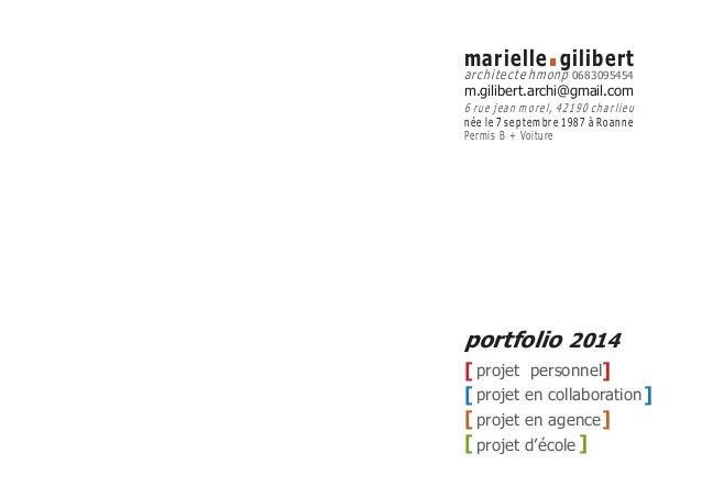 projet personnel  projet en collaboration  projet en agence  projet d'école  [ ]  [ ]  [ ]  [ ]  portfolio 2014  marielle....