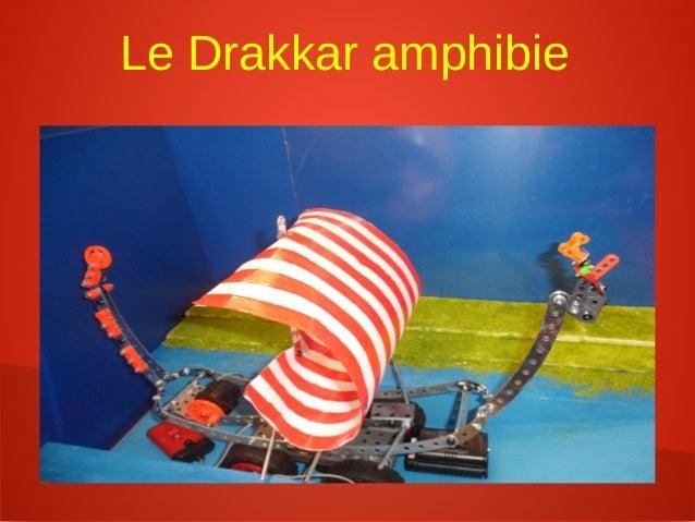 Le Drakkar amphibie