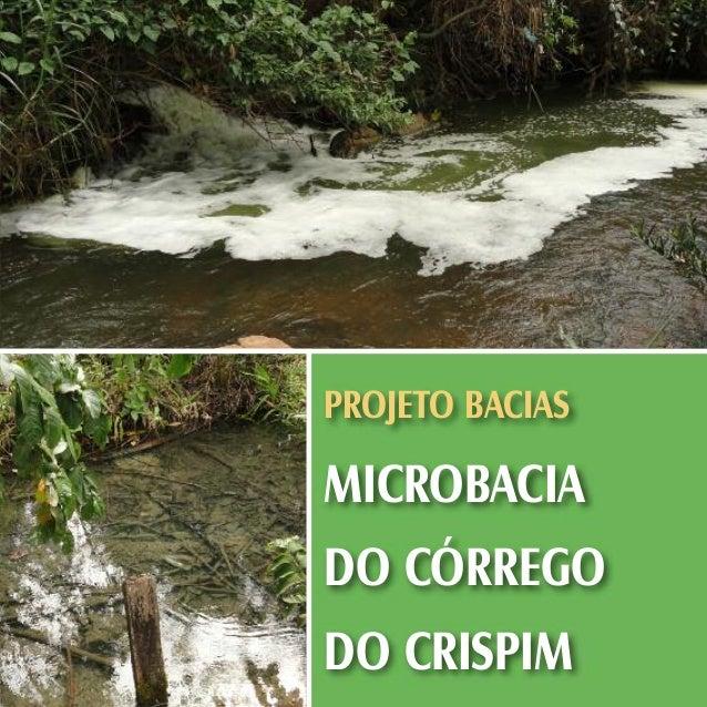 Projeto Bacias - Microbacia do Córrego do Crispim