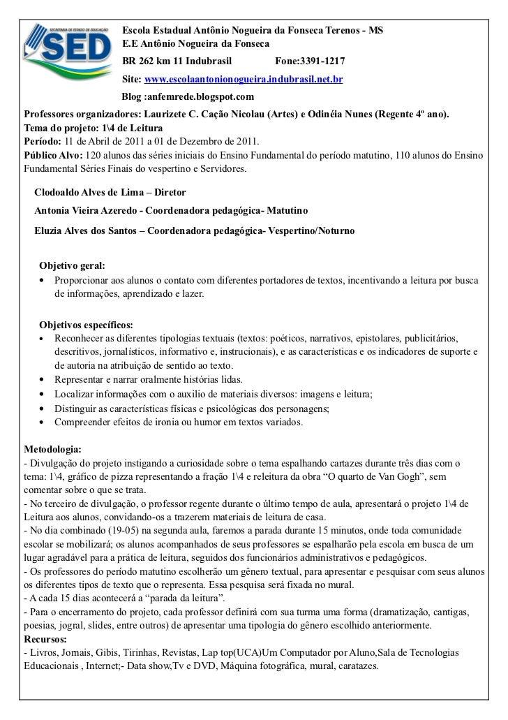 Escola Estadual Antônio Nogueira da Fonseca Terenos - MS                        E.E Antônio Nogueira da Fonseca           ...