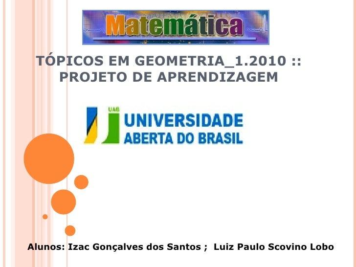 Projeto Geometria Oficial