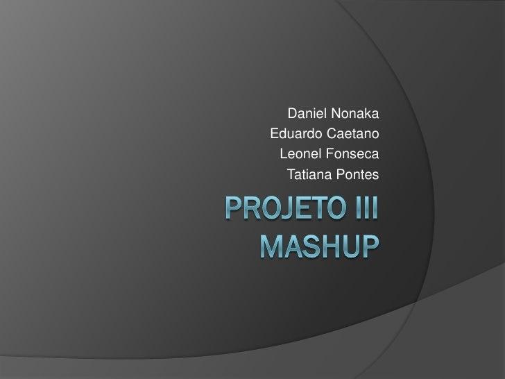 Projeto iii