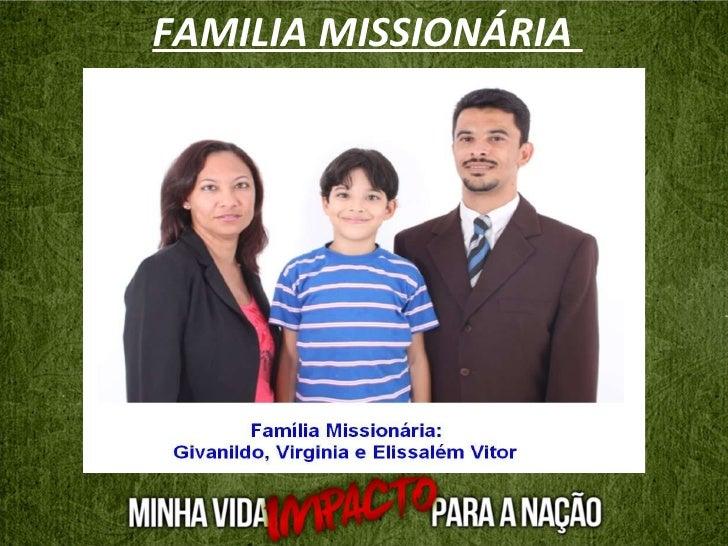 FAMILIA MISSIONÁRIA