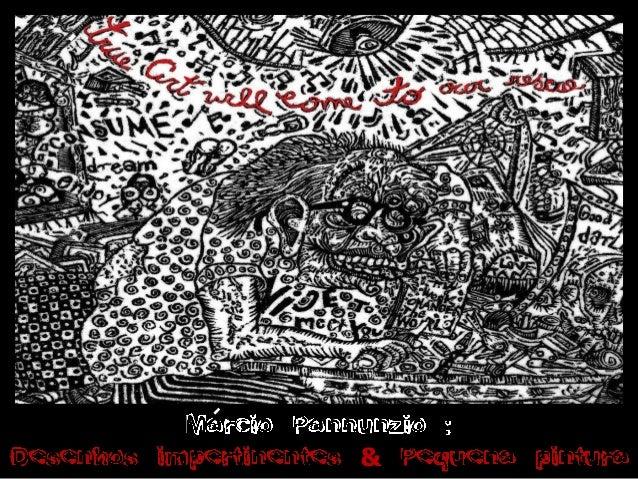Projeto márcio pannunzio   desenhos impertinentes & pequena pintura